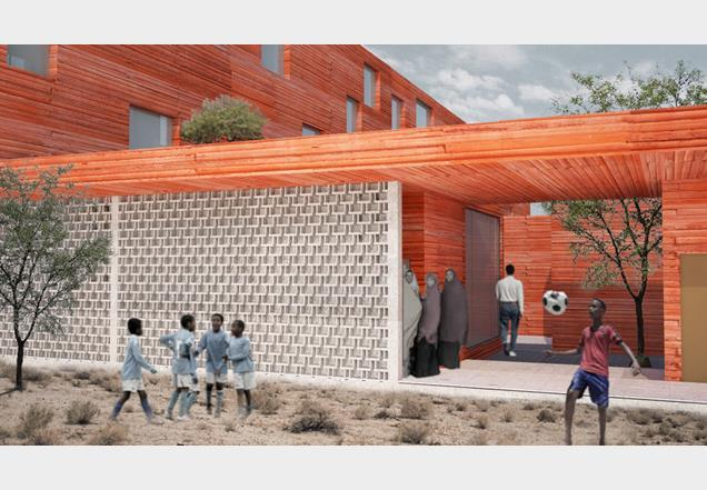 Sheikh School in Somaliland by RA Projects